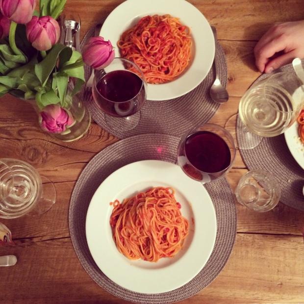 spaghetti e fiori