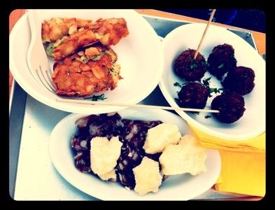 crocchette di patate e mandorle, polpettine