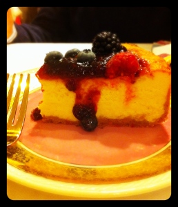 cheese cake da The Small