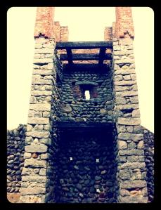 torre quadrata del Ricetto