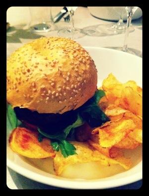 Hamburger Berton + chips