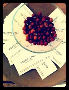 card refettorio simplicitas