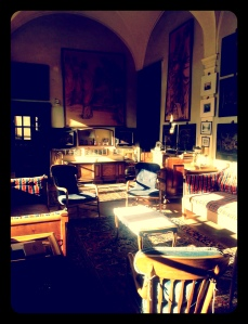 a casa di Guido Berlucchi
