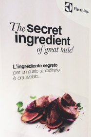 Electrolux Secret Ingredient project
