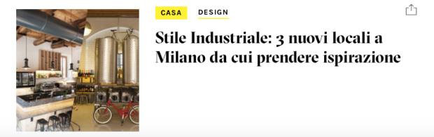 Locali industrial a Milano