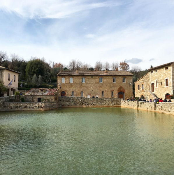 Bagno Vignoni tour