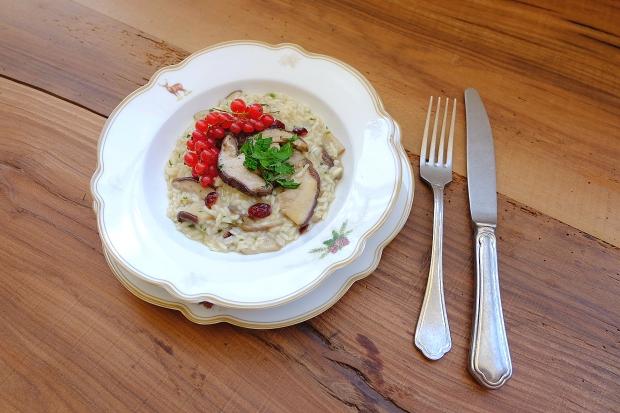 ricetta-risotto-funghi-porcini-e-ribes-rosso