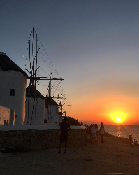windmills mulini Mykonos
