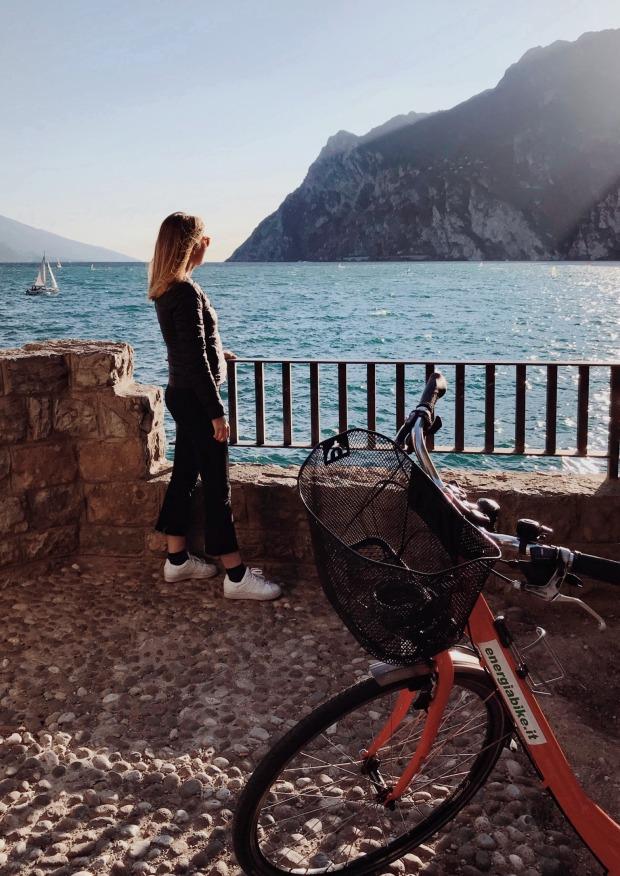 pedalare sul Lago di Garda